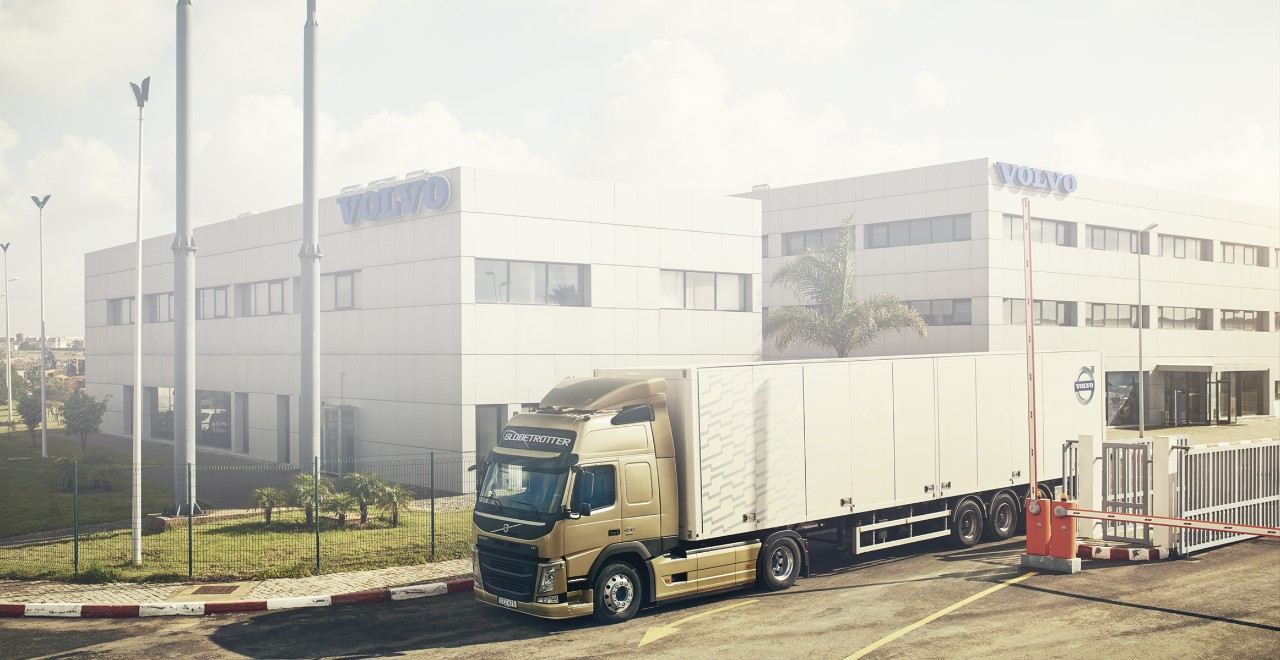 Volvo trucks servicing center